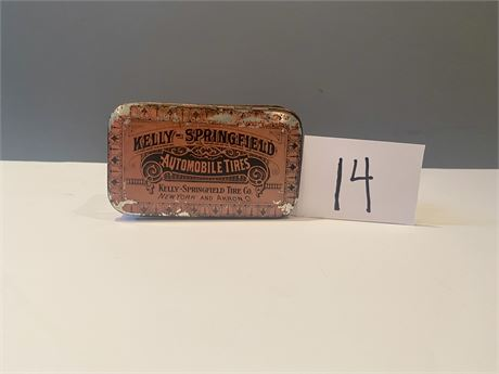 1920's Kelly-Springfield Tire Patch Tin