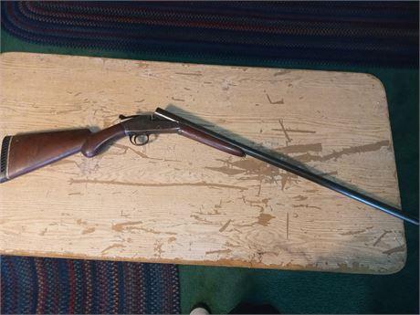 Single shot 12 gauge shotgun