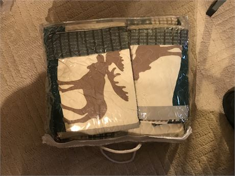 Woodland Quilt Set - Appears to be New in Bag