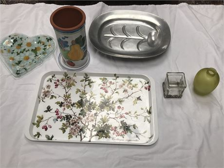 Mixed Lot of Serving Pieces