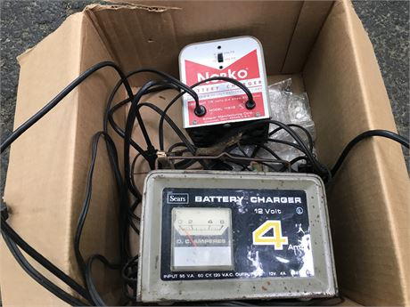 Battery Charger Lot - Sears and Norko
