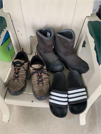 Columbia, Fila adidas size 12 shoes