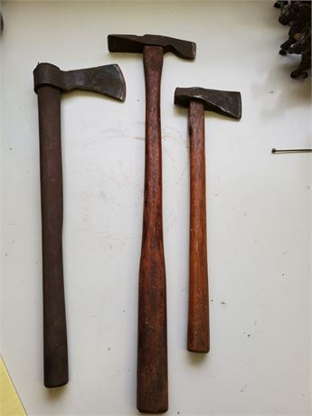 Antique Tomahawks x3