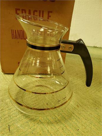 David Douglas 8 Cup Glass Coffee Pot