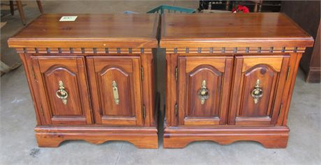 Pair of Matching Side Table Cabinets/Night Stands