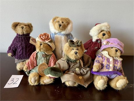 """Boyds Bears from the """"Bailey Collection"""""""