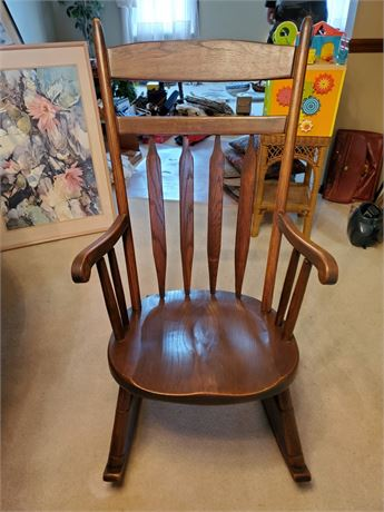 Oak Old Hickory Rocking Chair