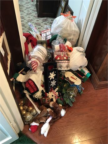 Christmas Clean Out Lot
