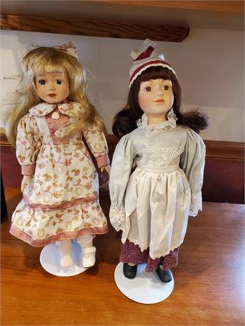 2 Seymour Mann Dolls