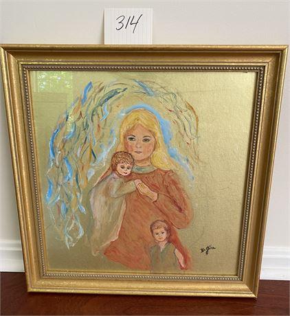Original Doris Jira Framed Art