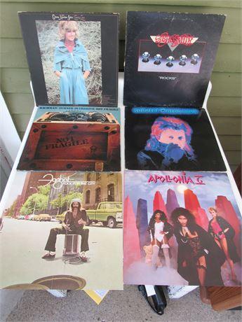 Rock Record Lot: Aerosmith