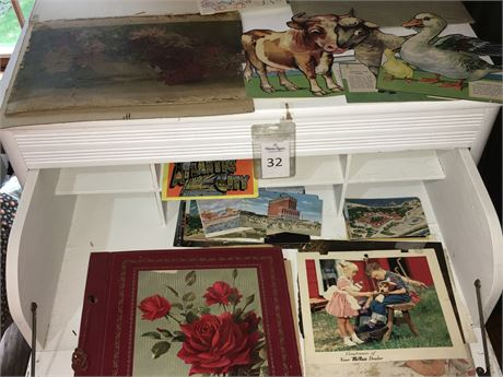 Vintage Postcards and More