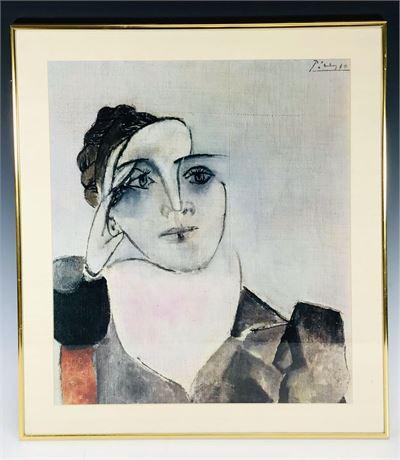 Picasso Contemporary Art Framed Print