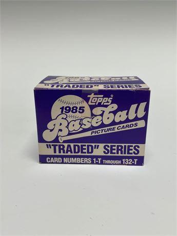 1985 Topps Traded Baseball Card Set
