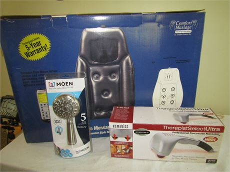 Homedic Therapist Select Ultra Professional Percussion Massager and More