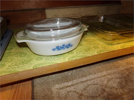 Metal Prep Containers, Anchor Hocking Casserole with Lid, and More