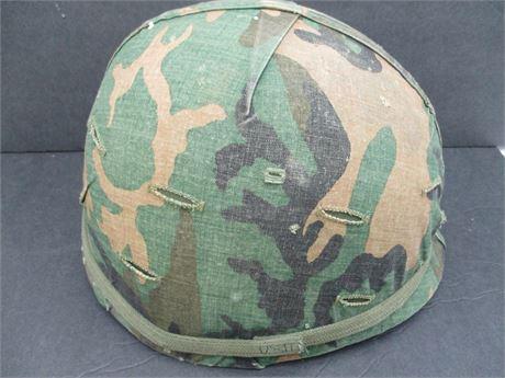 Vintage Genuine US Military Army Steinberg Bros Helmet