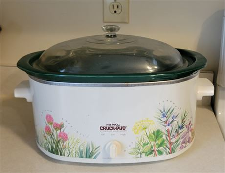 Rival Crockpot with Removable Pot