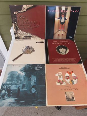 Rock Record Lot: Chicago Moody Blues