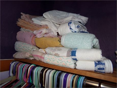 Variety of Towels and Washcloths