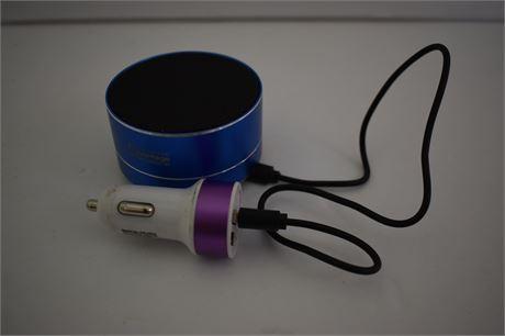 Bluetooth Speaker with car adaptor