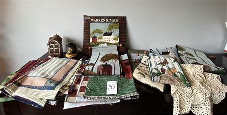 Miscellaneous Home Decor Lot