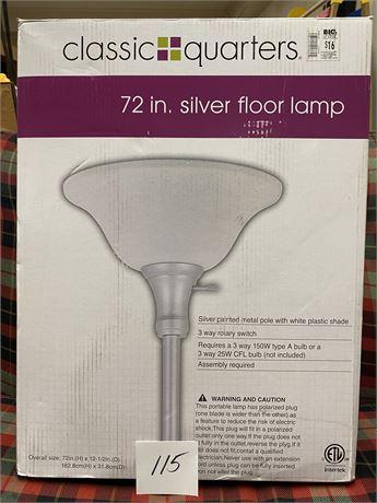 """""""Classic Quarters"""" 72"""" Floor Lamp - New in Box"""
