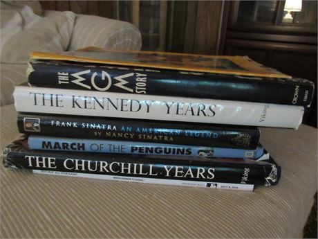 Coffee Table Book Lot