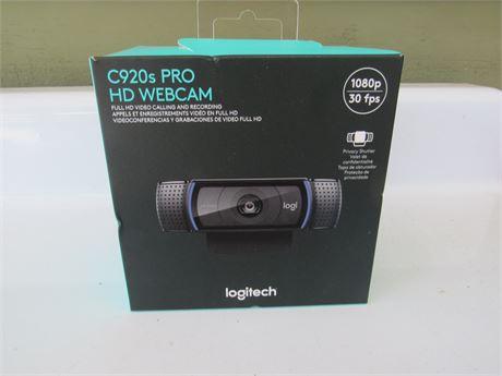Logitech C920 Pro HD Webcam, new
