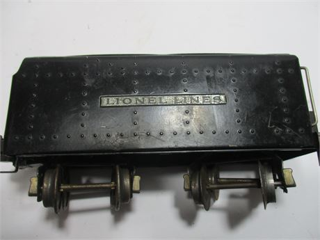 Vintage 1950's Lionel 027 Gauges Electric Coal Tender Car 466 WX