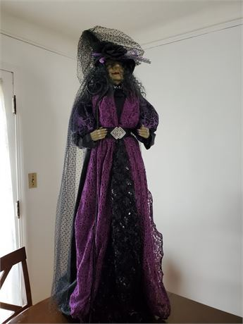 """52"""" Witch in Fabulous Outfit"""