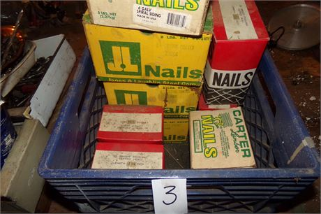 Crate of nails