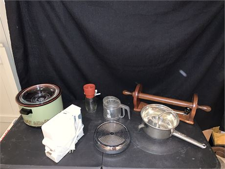 Vintage Foley Food Mill and Sifter, and More
