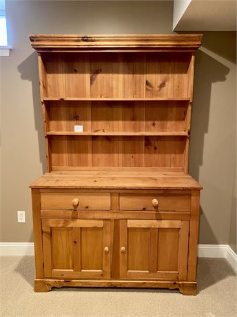 Solid Wood Hutch (Cupboard) - Furniture Only