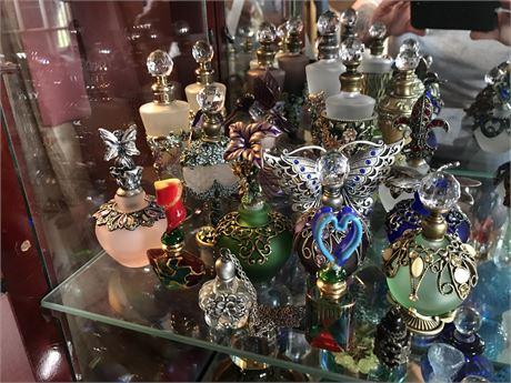 19 Ornate Perfume Bottles