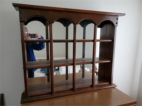 Mirror Back Display Shelf