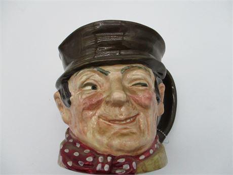 Vintage Large Sam Welley Royal Doulton China Toby Mug