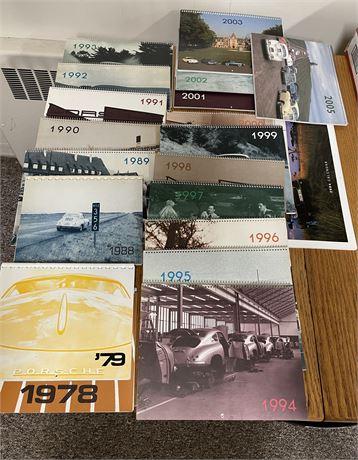 Porsche Calendars - 356 Registry and Porsche 2004 Multiple Copies