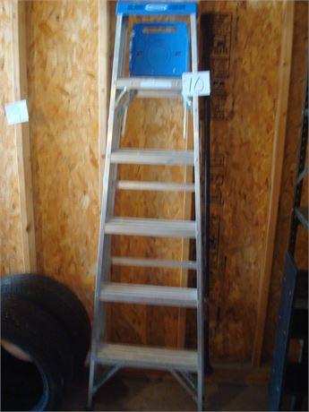 Post Hole Digger & Ladder