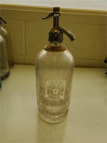 Antique The Double Eagle Cleveland Seltzer Bottle
