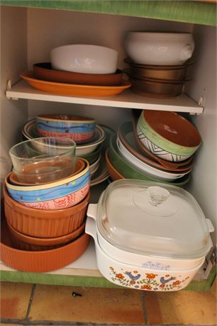 Contents of kitchen Cupboard