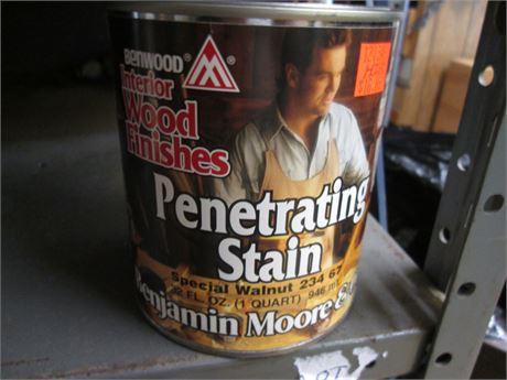 1 - Qts Benjamin Moore Penetrating Special Walnut Interior  Stains