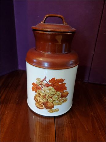 Vintage McCoy USA Milk Pail Cookie Jar