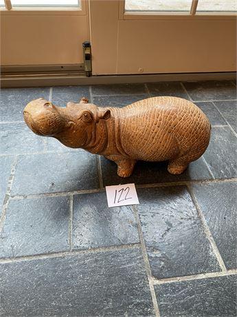 Jaru Pottery Hippo