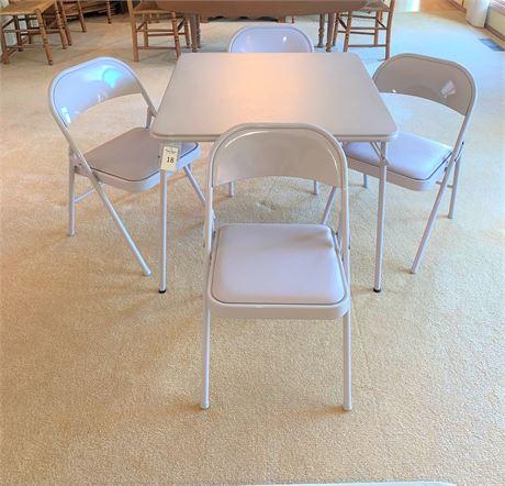 Meco, USA Card Table & Chairs Set