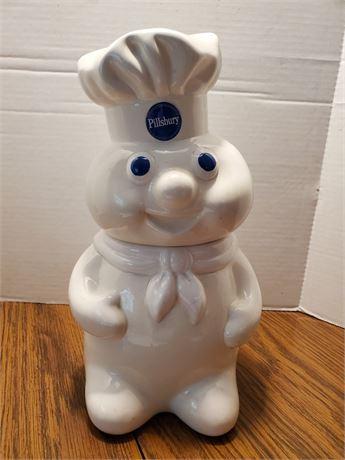 Vintage Pillsbury Doughboy Cookie Jar 1988