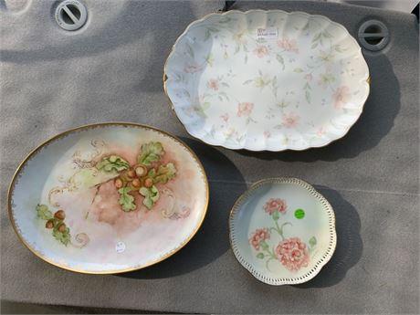 Vintage Serving Plates Narum Bone China