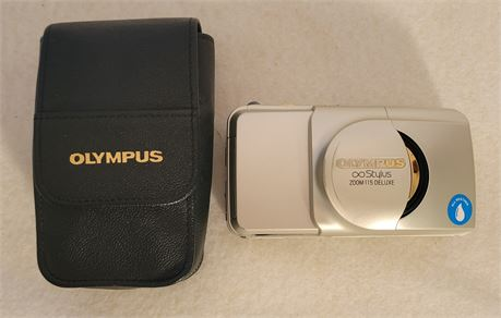 Olympus Stylus 200M115 Deluxe Camera