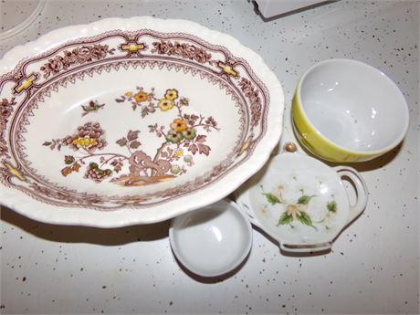 Mason's China Bowl, Pot, Cups and more