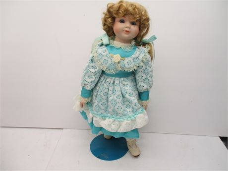"""Vintage Like New MYD NC Numbered 16""""  """"Collector"""" Doll"""